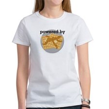 Powered By Waffles Tee