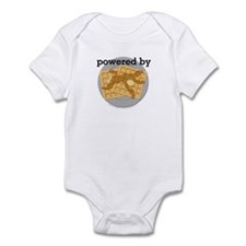 Powered By Waffles Infant Bodysuit