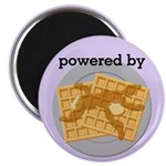 Powered By Waffles Magnet