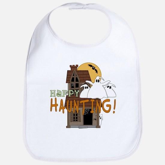 Happy Haunting Bib