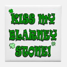 Kiss Blarney Tile Coaster