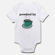 Powered By Coffee Infant Bodysuit