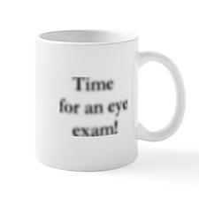 blurred eye exam? Mug