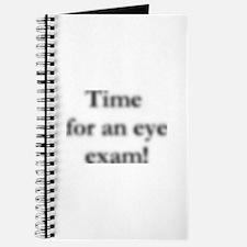 blurred eye exam? Journal