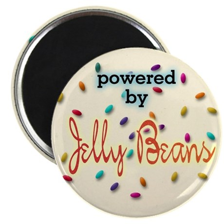 Powered By Jelly Beans Magnet