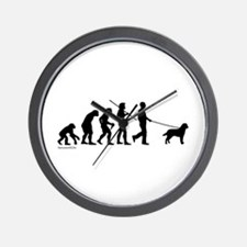 Lab Evolution Wall Clock
