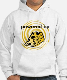 Powered By Cheese Hoodie