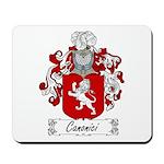 Canonici Family Crest Mousepad