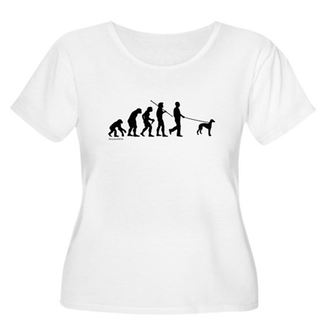 Greyhound Evolution Women's Plus Size Scoop Neck T