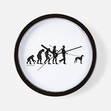 Greyhound Evolution Wall Clock