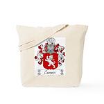 Canonici Family Crest Tote Bag