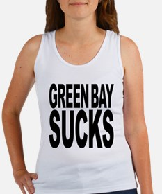 Green Bay Sucks Women's Tank Top