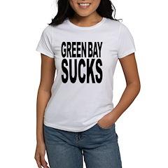 Green Bay Sucks Women's T-Shirt