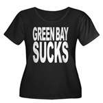 Green Bay Sucks Women's Plus Size Scoop Neck Dark