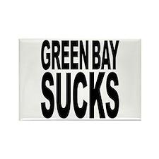 Green Bay Sucks Rectangle Magnet