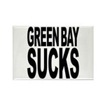 Green Bay Sucks Rectangle Magnet (100 pack)