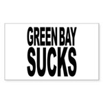 Green Bay Sucks Rectangle Sticker
