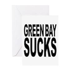 Green Bay Sucks Greeting Card