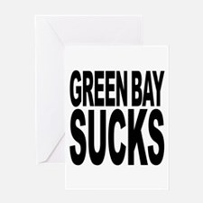 Green Bay Sucks Greeting Card