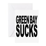 Green Bay Sucks Greeting Cards (Pk of 20)