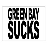 Green Bay Sucks Small Poster