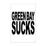 Green Bay Sucks Mini Poster Print