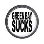 Green Bay Sucks Wall Clock