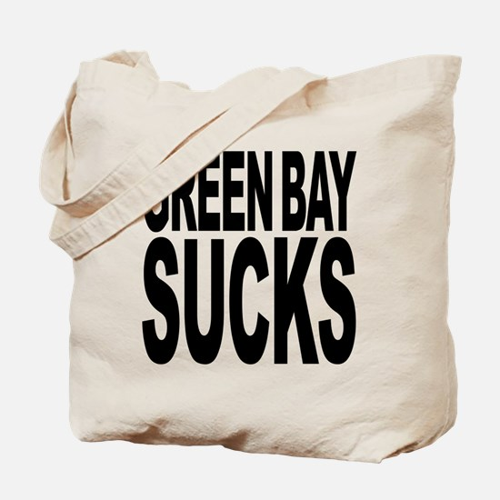 Green Bay Sucks Tote Bag