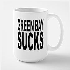 Green Bay Sucks Ceramic Mugs