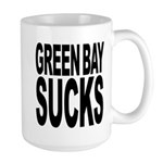 Green Bay Sucks Large Mug