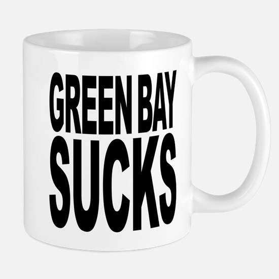 Green Bay Sucks Mug