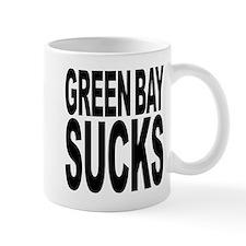 Green Bay Sucks Small Mugs