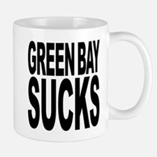 Green Bay Sucks Small Mugs