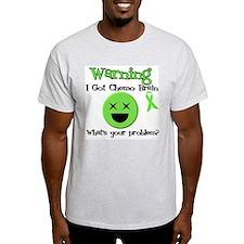 Warning Chemo Brain T-Shirt