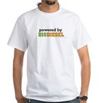 Powered By Biodiesel White T-Shirt