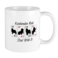 Keeshonden Rule Mug