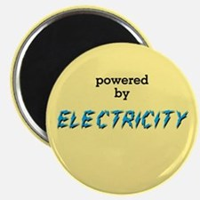 Powered By Electricity Magnet