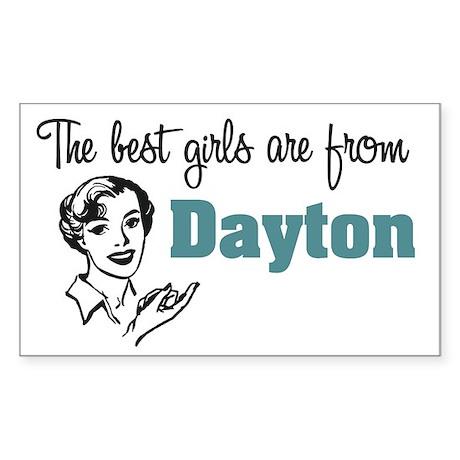 Best Girls Dayton Rectangle Sticker