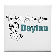 Best Girls Dayton Tile Coaster