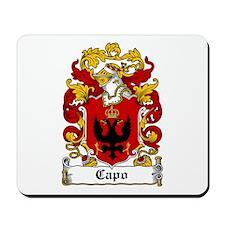 Capo Family Crest Mousepad