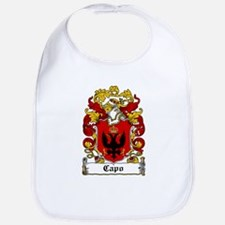 Capo Family Crest Bib