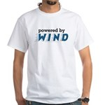 Powered By Wind White T-Shirt