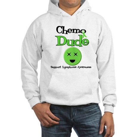 Chemo Dude Lymphoma Hooded Sweatshirt