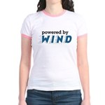 Powered By Wind Jr. Ringer T-Shirt