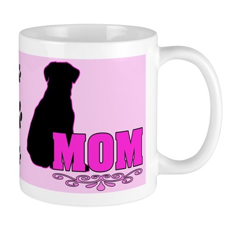 Girly Labrador Mom Mug