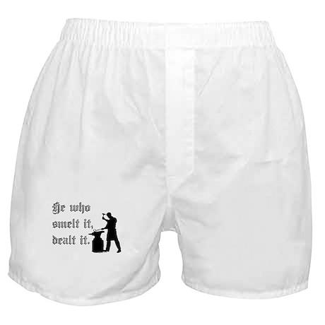 He Who Smelt It Dealt It Boxer Shorts