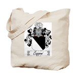 Capponi Family Crest Tote Bag