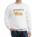 Powered By Cats Sweatshirt