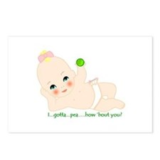 gotta pea postcards (Package of 8)