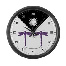 Rashida's Large Wall Clock